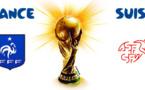 Le match France-Suisse se déroule ce vendredi 20 juin 2014 à 21 heures.