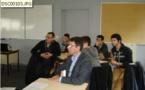 Les étudiants EGC Vendée reçoivent 9 chefs d'entreprises