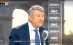 Le président du Mouvement Pour la France n'a pas retenu ses mots ce matin sur RMC