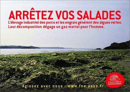La campagne de France Nature Environnement , un pavé dans la marre
