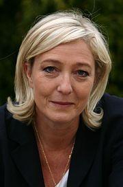 C'est la première fois que Marine Le Pen (43 ans) se présente à l'élection présidentielle