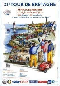 Tour de Bretagne 2013 des véhicules anciens