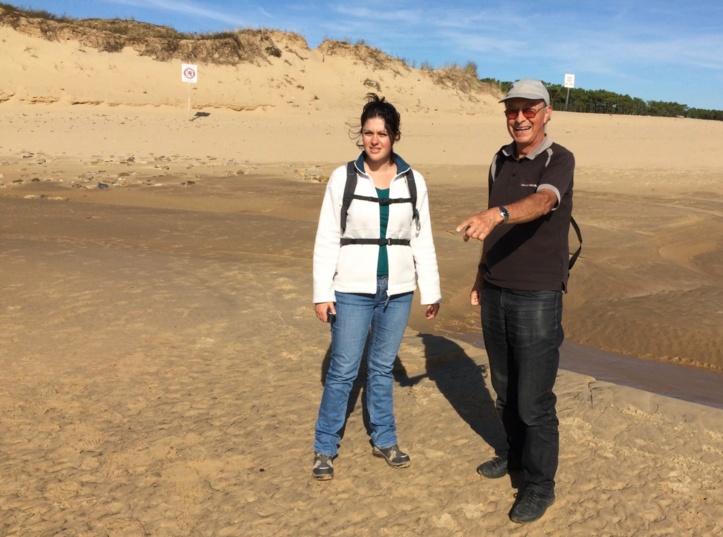 Marine Genet et Jack Guichard vont participer au lancement du projet dans le but de protéger durablement l'Estuaire du Payré classé premier site remarquable de Vendée