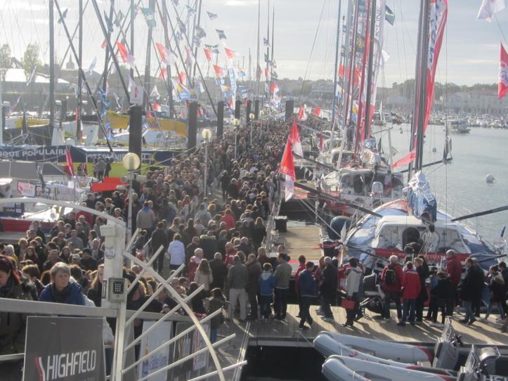 Village du Vendée Globe : plus de 300 000 visiteurs en une semaine !