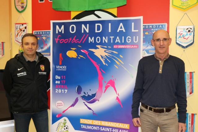 Mondial de Montaigu: plus de 140 bénévoles à pied d'œuvre