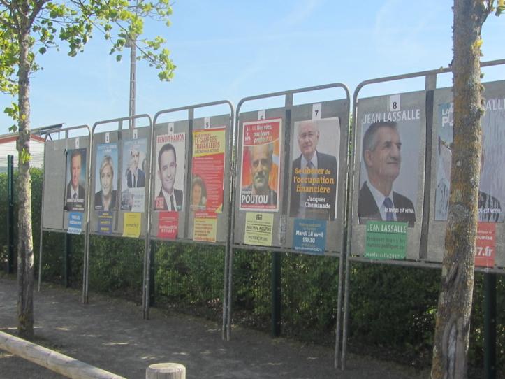 Les résultats officiels du premier tour des Elections présidentielles