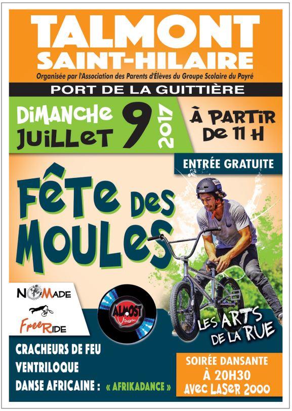 La Fête des Moules : deux shows de Nomade Freeride