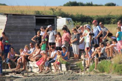 La fête du sel accueille tous les ans un public nombreux pour aller à la découvrir de l'or blanc du talmondais à travers ses marais de la Guittière.