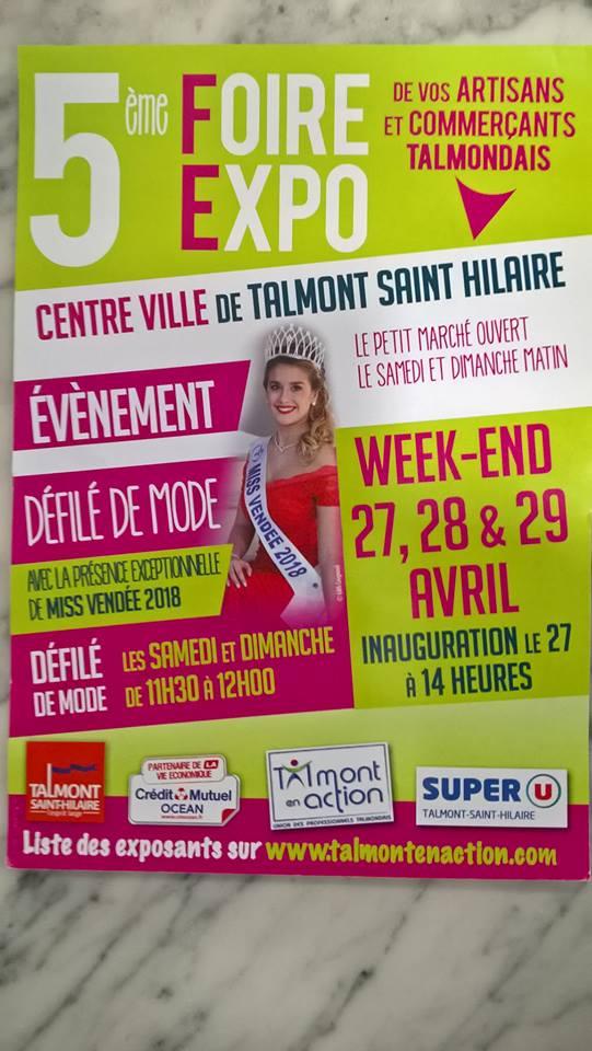 La Foire expo les 27,28 et 29 avril dans le Centre-Ville