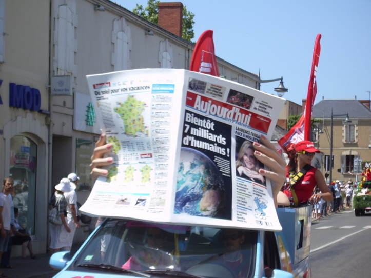 Le dernier passage du Tour de France à Talmont remonte à 2011