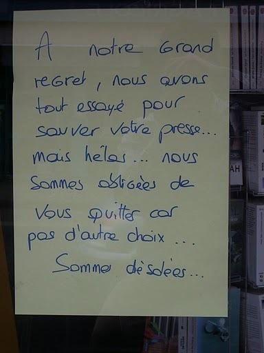 Plus de Maison de la Presse à Talmont Saint Hilaire !