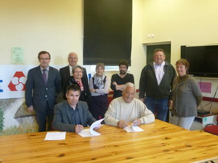 Le Crédit Mutuel renouvelle son partenariat avec Centre Socioculturel