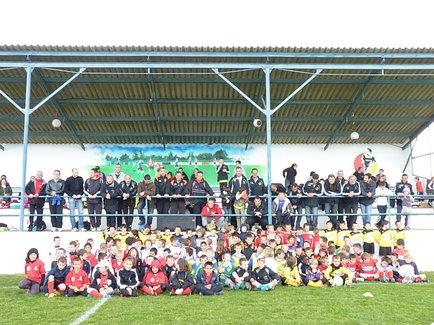 Le tournoi de foot réuni 150 jeunes de la toute la région