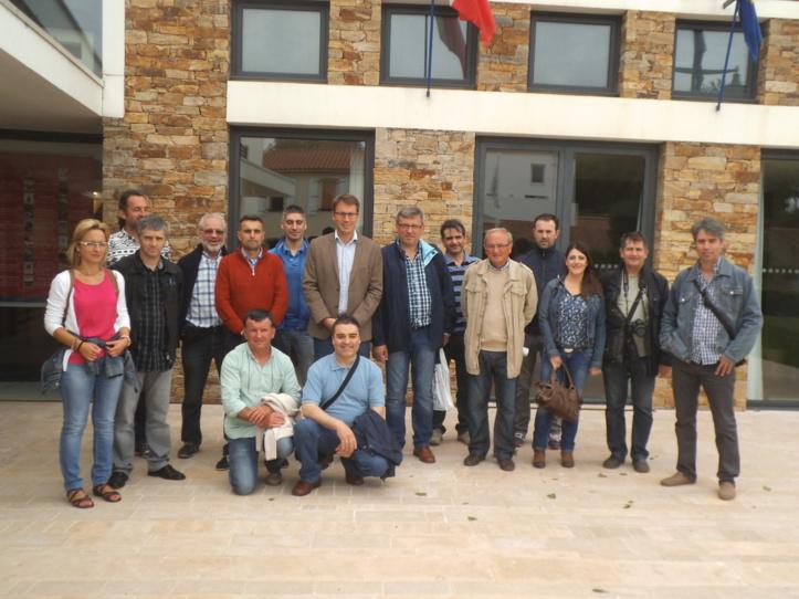Une délégation d'enseignants espagnols reçus à l'Hôtel de Ville
