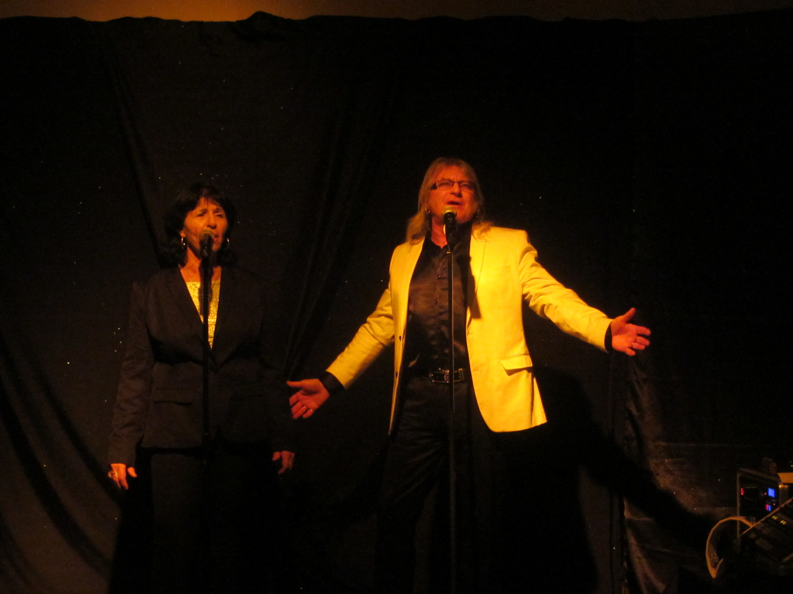 Claude et Marylou ne laissent pas indifférent le public à chacun de leur passage sur scène