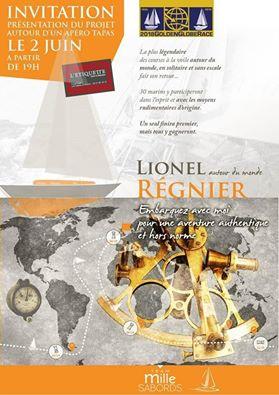 Lionel Régnier : prochain défi, la mythique GOLDEN GLOBE RACE