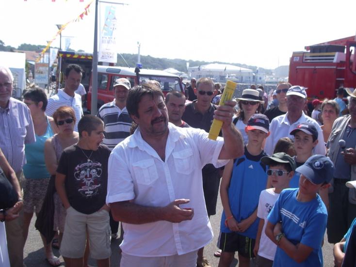 La journée sécurité est l'occasion pour nombre de vacanciers et aux plaisanciers d'être sensibilisé aux risques en mer