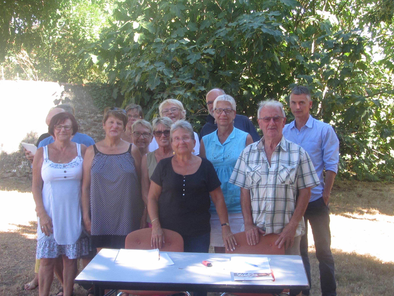 Les organisateurs de la journée du cct accueilleront le public autour de Samuel Leterne (à droite) samedi toute la journée