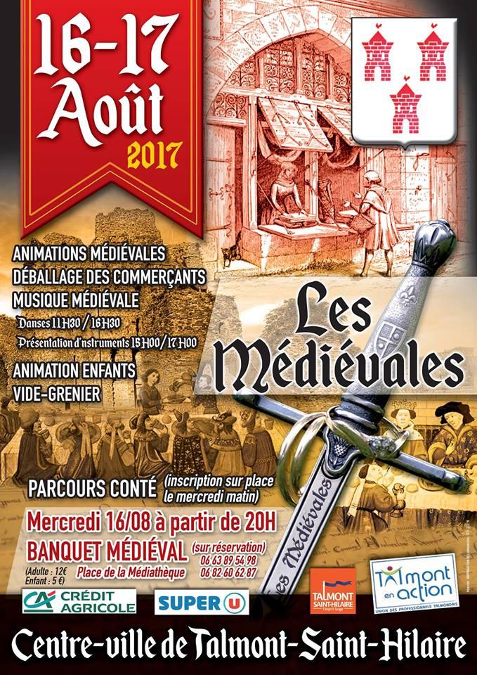 Les Médiévales de Talmont les 16 et 17 août