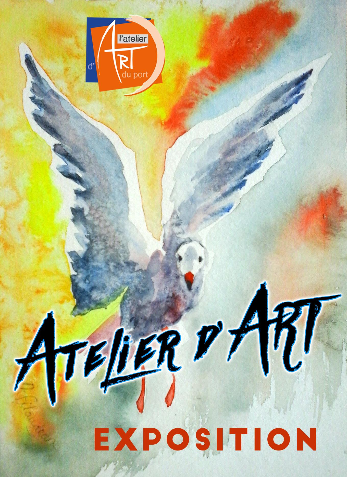 3ème Portes-Ouvertes à l'Atelier d'ART du port les samedi 16 et dimanche 17 septembre, de 11h à 19h.
