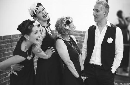 Concert rétro et burlesque à la Médiathèque Aliénor