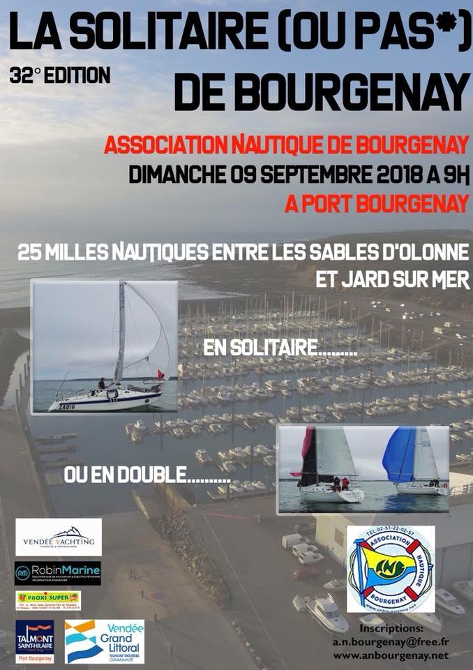 La 32 ème édition de la Solitaire de Bourgenay ce dimanche 9 septembre