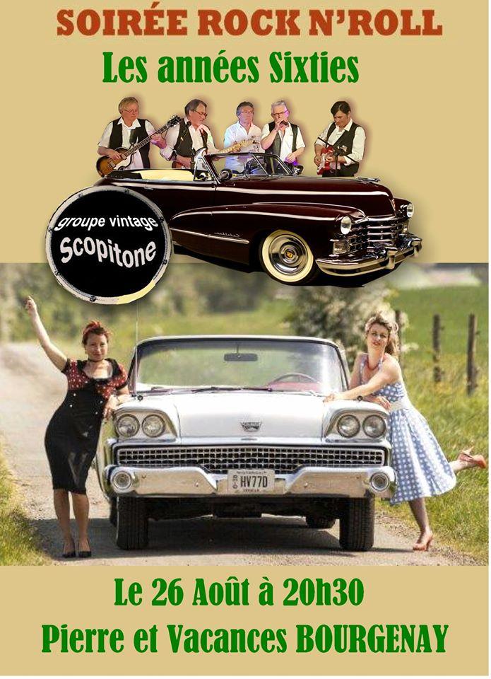 Soirée Rock n'Roll à Bourgenay  le lundi 26 août