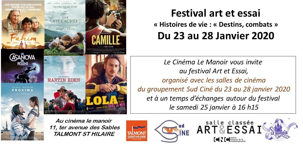 Cinéma le Manoir: un Festival Art et Essai autour d'histoires de vie