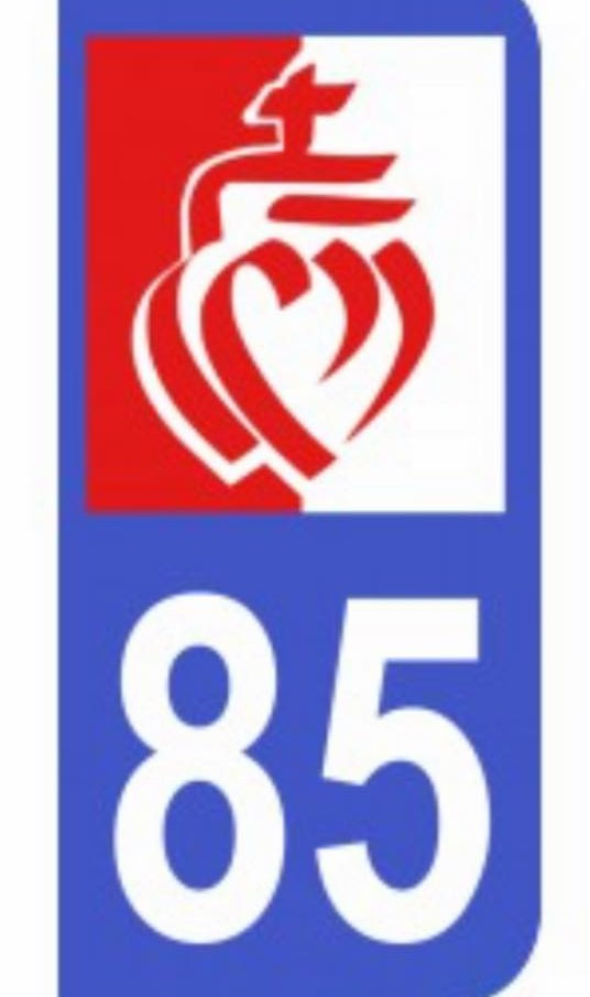 Département: le logo de la Vendée interdit sur les plaques d'immatriculation