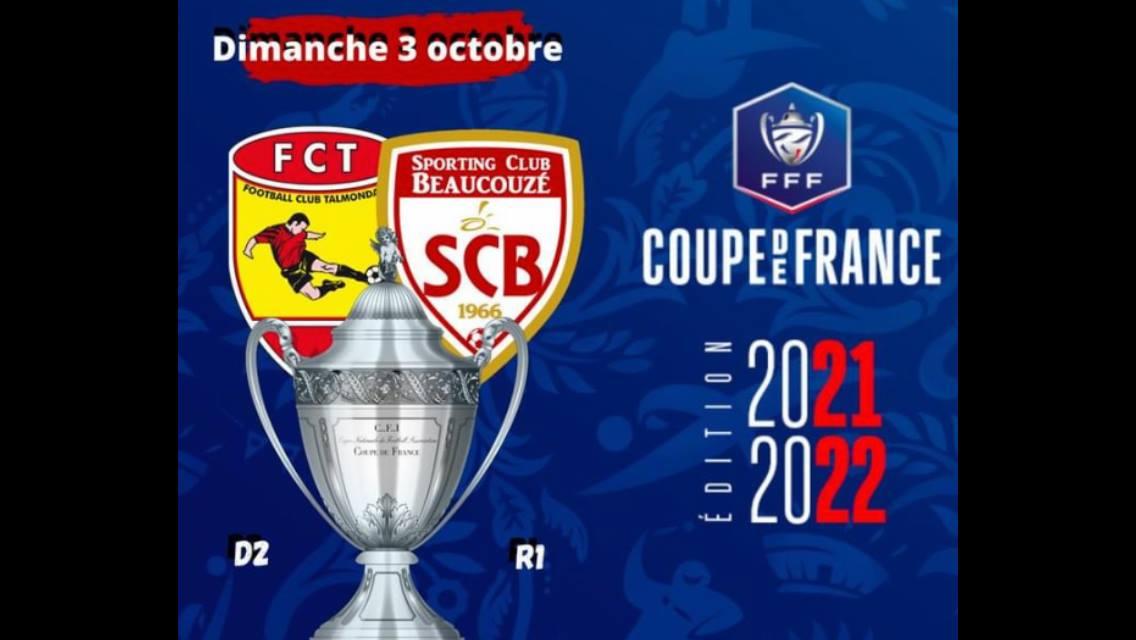 Coupe de France:  rendez vous le dimanche 3 octobre