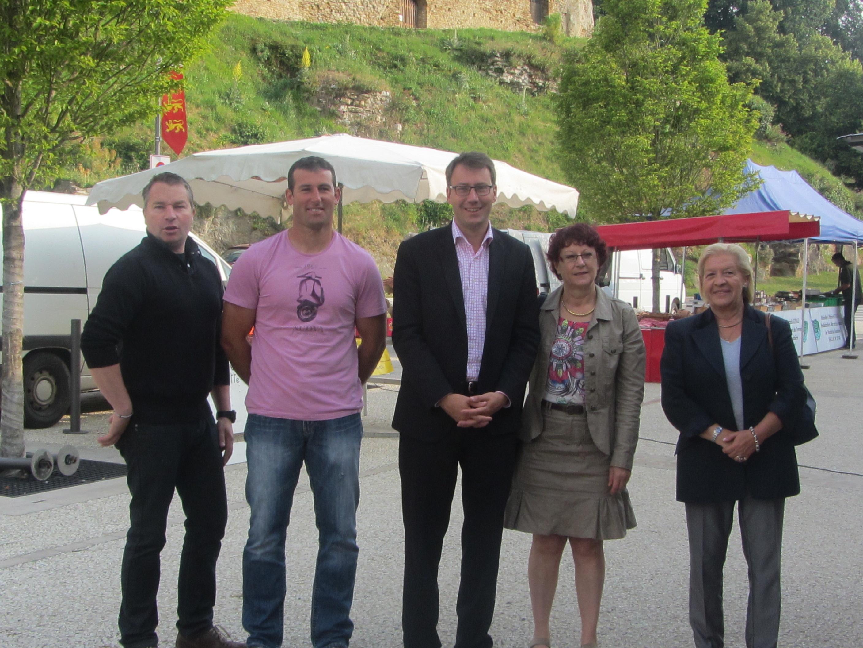 La commune de Talmont souhaite installer durablement le marché hebdomadaire dans le paysage du centre-ville