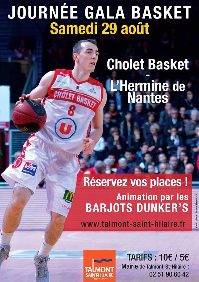 Journée gala Basket : réservez votre place !