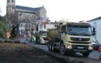 Le montant des travaux Place du Château s'élève à 3462820,00€